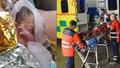 Porod v sanitce na Mělnicku: Záchranářka Blanka se rozplakala dojetím