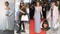 Celebrity v Cannes: Inspirace pro filmové Vary