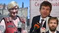Rázná ministryně Karla Šlechtová ani oholený ministr Robert Pelikán v nové vládě Andreje Babiše nebudou.