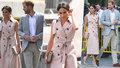 Vévodkyně Meghan opět v růžové! Kolik stojí její šaty?