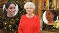 Královna pozvala na štědrovečerní večeři spolu s Meghan Markle i její matku Doriu.