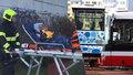 V Jarníkově ulici se srazily dva autobusy, v jednom cestovaly děti.