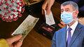 Premiér Andrej Babiš (ANO), boj s koronavirem a otevírání obchodů