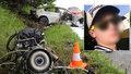 Šestadvacetiletý mladík miloval rychlou jízdu ve svém BMW: Při nehodě zemřel on i rodiče malého dítěte.