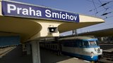 U nádraží na Smíchově vyskočila cestující z vlaku. Ostatní museli evakuovat