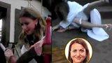 Blanarovičová pařila a padala: Nad Tatrou sa blýsklo, s Yvettou to třísklo
