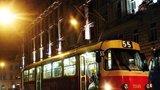 Po prázdninách bude jezdit víc nočních tramvají, intervaly se zkrátí