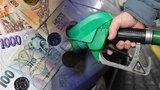 Propad v cenách benzinu a nafty: Tankujeme nejlevněji od začátku roku