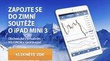 Zhodnoťte virtuální milion a získejte iPad mini 3 vzimní investiční soutěži!