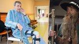 »Krakonoš« Peterka skončil v nemocnici: Po 44 operacích ho zradily plíce!
