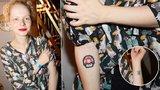 Holka jako malovaná: Porcelánová dcera Asterové má už 9 tetování!