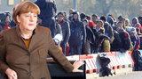 "Nový uprchlický rekord. K Merkelové dorazila za listopad ""Plzeň"" migrantů"