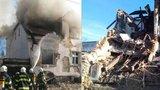 Na Vánoce zavraždil ženu a dítě, pak vyhodil dům v Budějovicích do vzduchu. Vrah uhořel