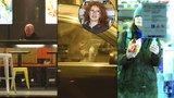 Noční žranice slavných: Bydžovská s chipsy, Lábus s bagetou a Kretschmerová s bufáčem v autě!