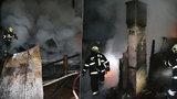 V chatě na Českolipsku uhořel člověk: Brutální vražda, nebo nešťastná náhoda?