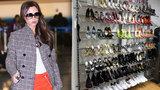 Victoria Beckham se zbavuje svých miláčků: Vyřadila 100 párů bot za statisíce!