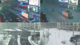 Unikátní video: New York během noci zapadal sněhem, z rušných ulic zmizel život