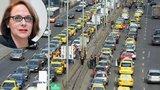 """Taxikáři budou znovu protestovat proti službám typu Uber. Magistrát: """"Nevědí, co chtějí!"""""""