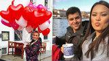 Projížďky po Vltavě, romantické večeře, dovádění na horách: Podívejte se, jak Valentýna strávily české celebrity