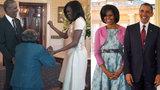 Babička (106) roztančila Obamu. Prezidentský pár čipernou seniorku nestíhal