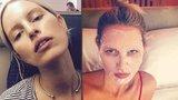 Supermodelka Kurková bez make-upu a na pokraji sil: Co musela přetrpět?