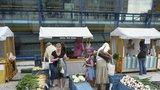 Zavřeno kvůli počasí: Rajská zahrada neotevřela středeční farmářské trhy