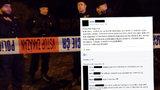 Vrah v Brně zabil další oběť, hlásala žena na Facebooku: Hrozí jí rok vězení
