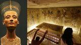 Je u Tutanchamona i královna Nefertiti? Nové objevy slibují nález století