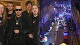 Po koncertě Ortelu zasahovala policie a hasiči: Fanoušky chtěli »vyčoudit« z baru