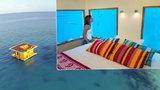 Ustelte si v akvárku! V tomto hotelu se spí čtyři metry pod vodou