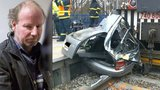 Opilý strojvůdce zabil 2 lidi: S lokomotivou boural už podruhé