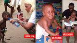 Zázračné uzdravení na smrt vyhublého odvrženého chlapce z fotky, která obletěla svět: Malý Hope je po pár týdnech plný života