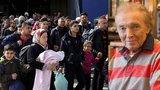 Gott drsně o uprchlících: Jsou skvěle oblečení, před kamery strkají děti! Takovým máme pomáhat?