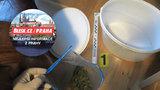 Policie dopadla dva dealery s marihuanou: Kšeftovali ve velkém na Praze 6