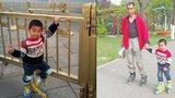 Otec vzal syna (4) na brusle: Ujeli přes 540 kilometrů! Prý mu to utuží charakter