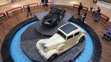 Unikátní výstava legendární značky Jaguar: Projeďte se v luxusu