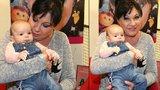 """Dáda Patrasová už nemůže dočkat a trénuje: """"Půjčené"""" miminko nechtěla dát z ruky!"""