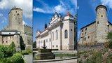 Nejkrásnější hrady a zámky Česka: Pardubický a Královéhradecký kraj