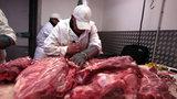 Nelegální bourárna masa na Bohdalci: Inspektoři zajistili tunu a čtvrt hovězího