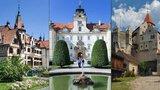 Nejkrásnější hrady a zámky Česka: Jihomoravský a Zlínský kraj