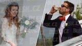 Biatlonistka Soukalová se vdala! Pivo na nervy, nevěstu schovávali