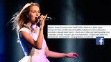 Proč Gunčíková nevyhrála Eurovizi? Diváci mají jasno!