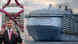 Největší zaoceánská loď doplula do Anglie! V Southamptonu se nalodí první pasažéři