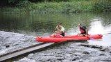 Pro vodáky je řada řek sjízdná, Sázava však na minimu. Hrozí přívalové deště