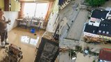 Lokální záplavy nepřežilo už 10 lidí. Nejvíce obětí hlásí Německo