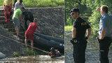 Policisté v Budějovicích vytáhli z řeky utonulého: Utopil se i jeho zachránce