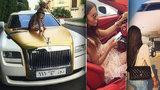 Rodiče-nadlidi se chlubí na Instagramu: Ochočený gepard za mazlíčka a auta za miliony