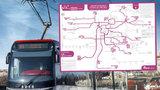 Tramvajová revoluce v Praze je tady: Co všechno je od neděle jinak?