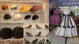 Retro v Národním muzeu: Boty, kabelky, šaty. Móda se vrací! Některé kousky frčí i po 80 letech.