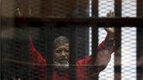 Potvrzeno: Egyptský exprezident Mursí byl za špionáž odsouzen k doživotí